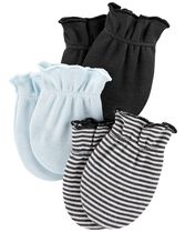 3-Pack Mittens, Color, hi-res