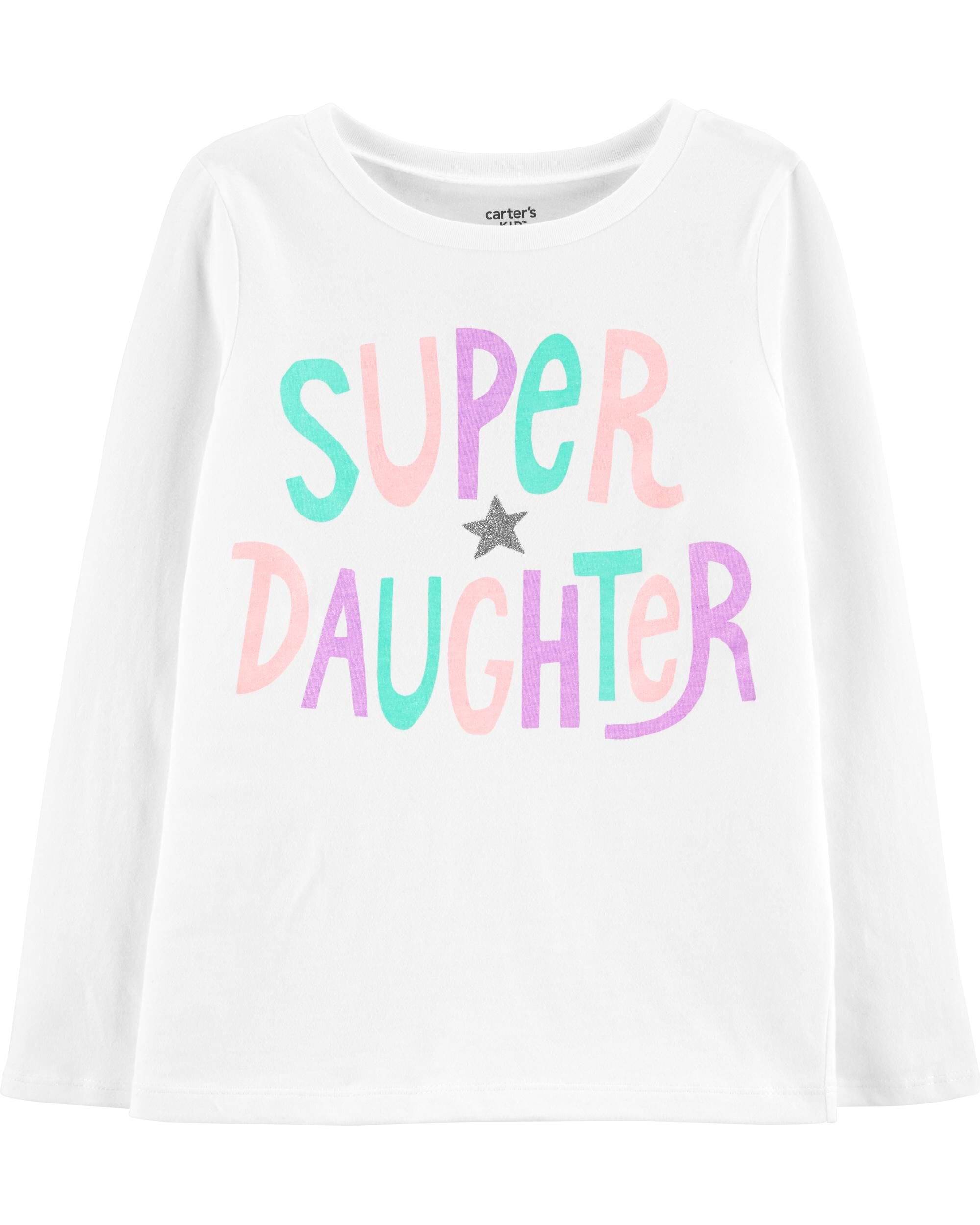 *DOORBUSTER* Super Daughter Jersey Tee