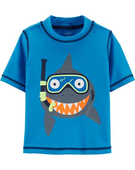 Carter's Shark Rashguard