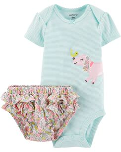 0d51de066060 2-Piece Dog Bodysuit   Diaper Cover Set