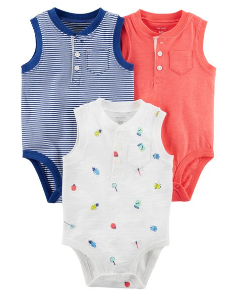 57f5060b6 3-Pack Tank-Top Original Bodysuits
