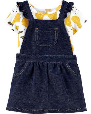 NWT $40 Carters 2-Pc Infant Girl Occasion Dress /& Bloomer Diaper Cover 6 9 18 24