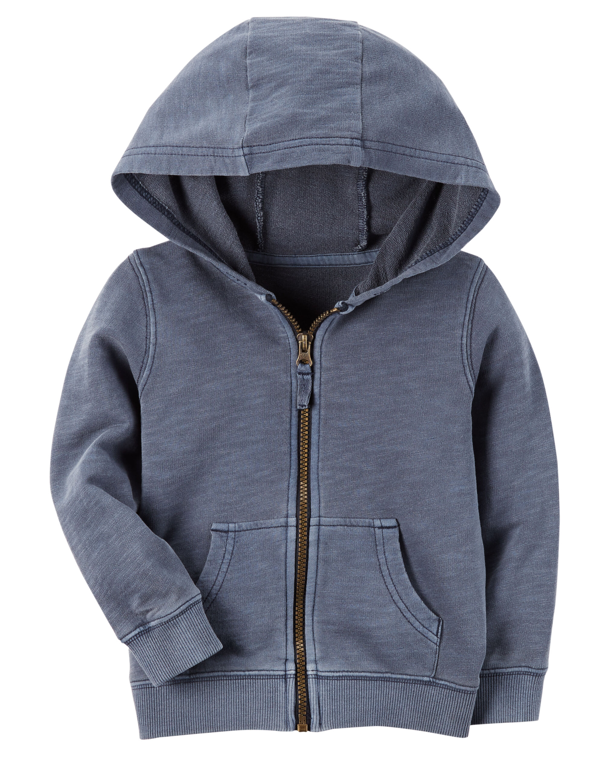 Carters OshKosh Navy French Terry Hoodie 2T