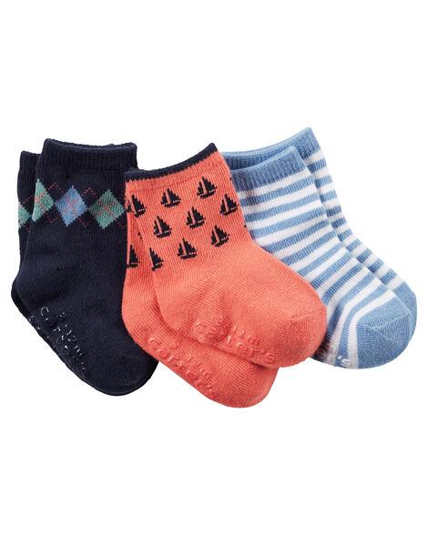 745026b60 3-Pack Argyle Crew Socks ...