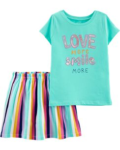 218468b49da69 Girls Tops & T-Shirt Sets | Carter's | Free Shipping