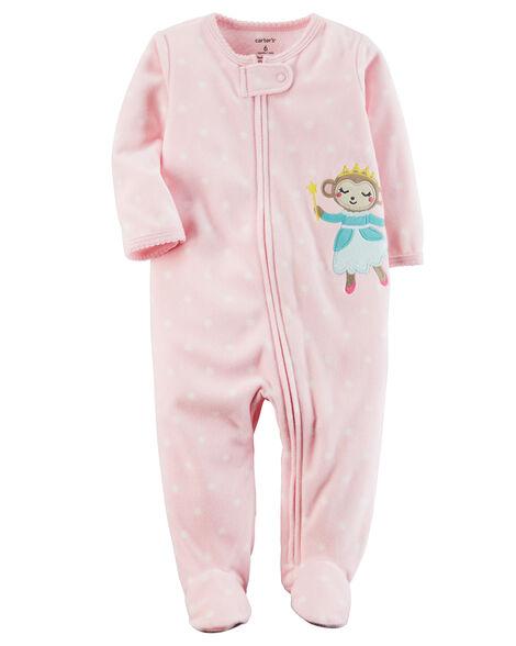 19576e37eb82 Fleece Zip-Up Sleep   Play