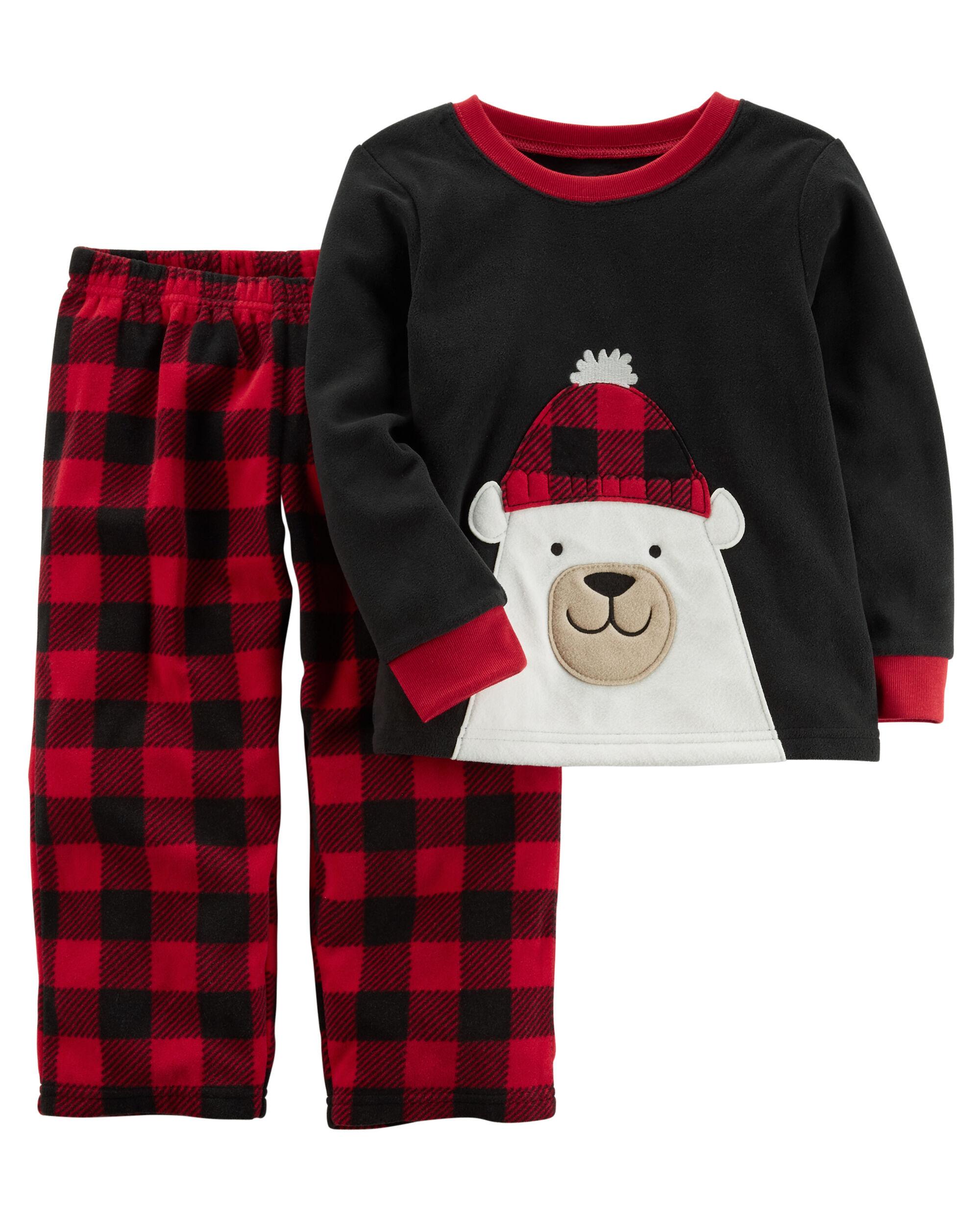 2 piece christmas fleece pjs loading zoom - Christmas Fleece