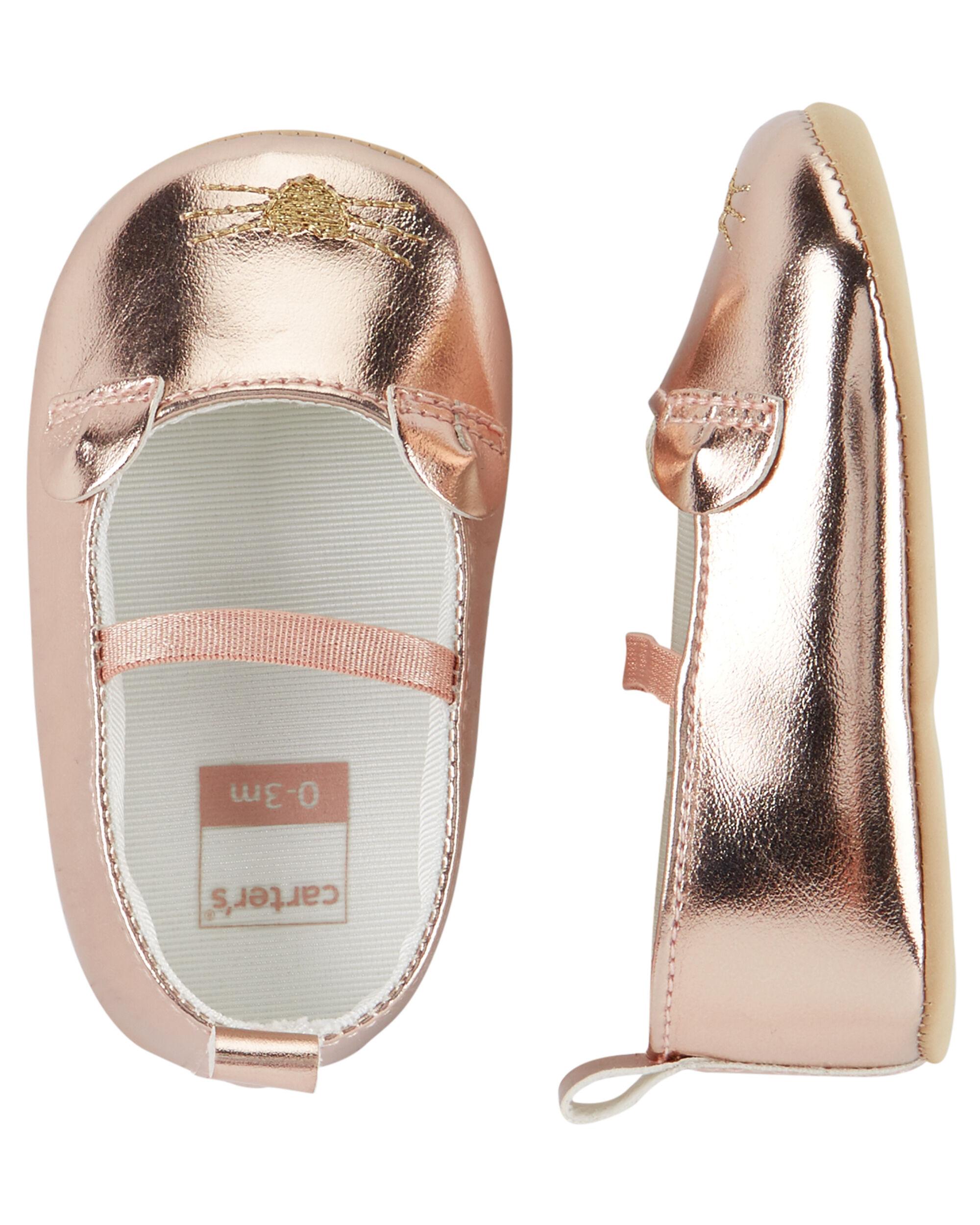 Carter's Mary Jane Crib Shoes | carters.com