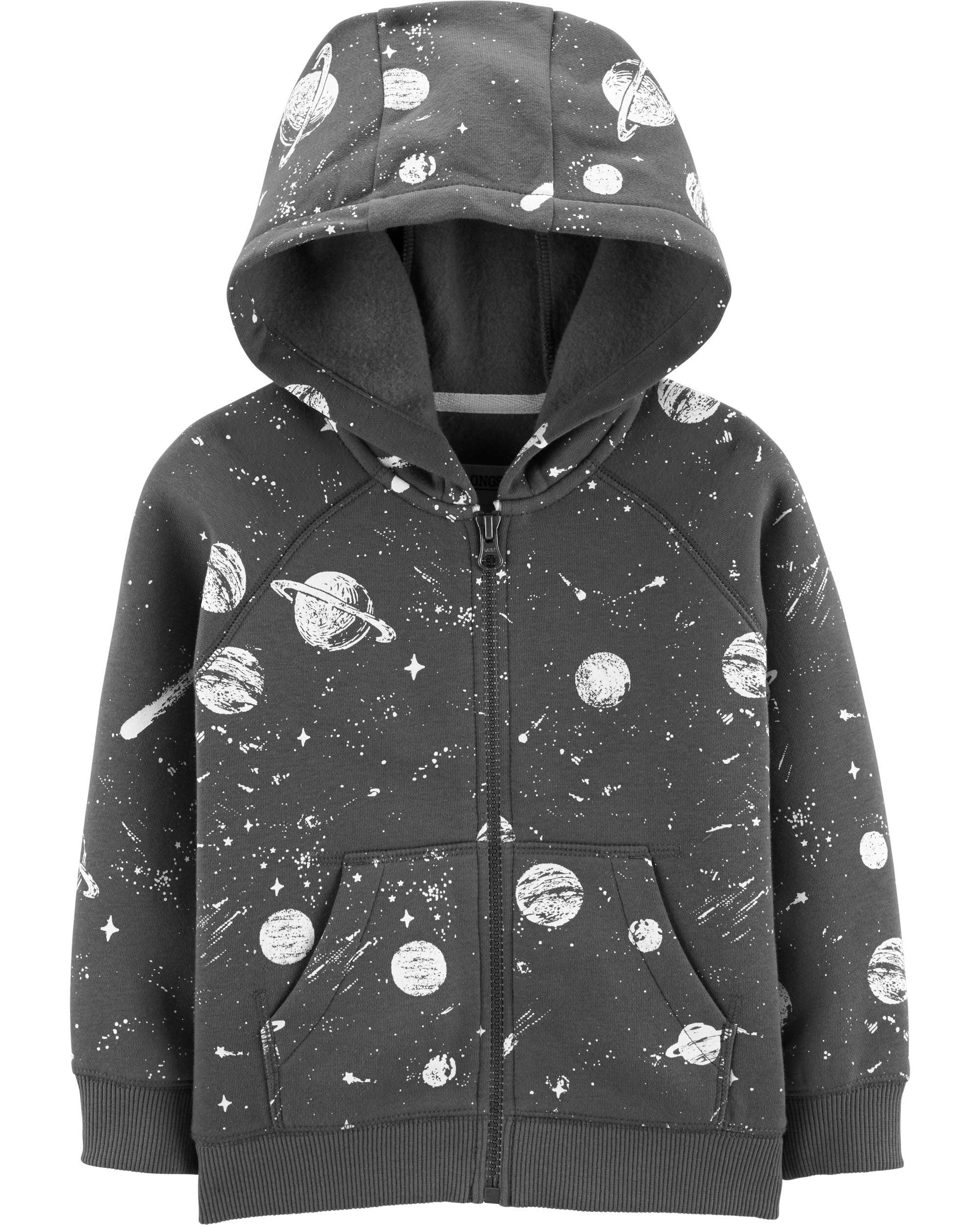 Alien Head Funny Babies Infants Hoodie Hoody Sweaters Baby & Toddler Clothing