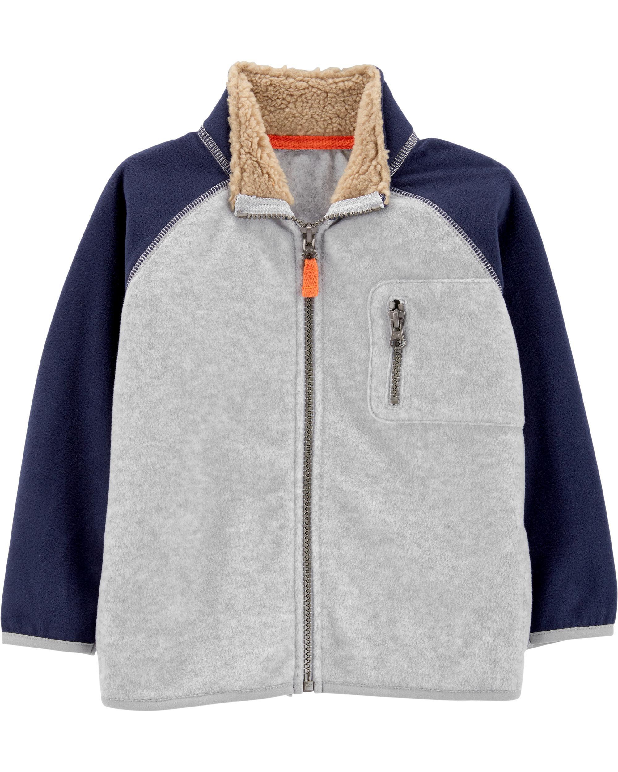 Zip-Up Fleece Jacket