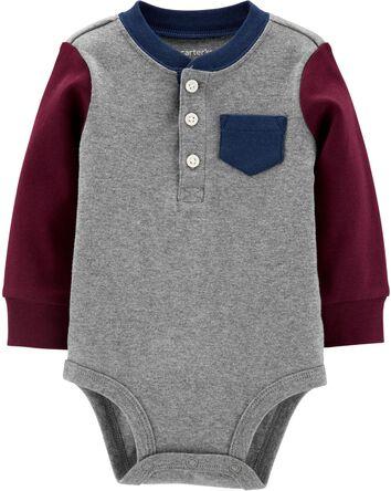 b241e5f235 Baby Boy Bodysuits | Carter's | Free Shipping