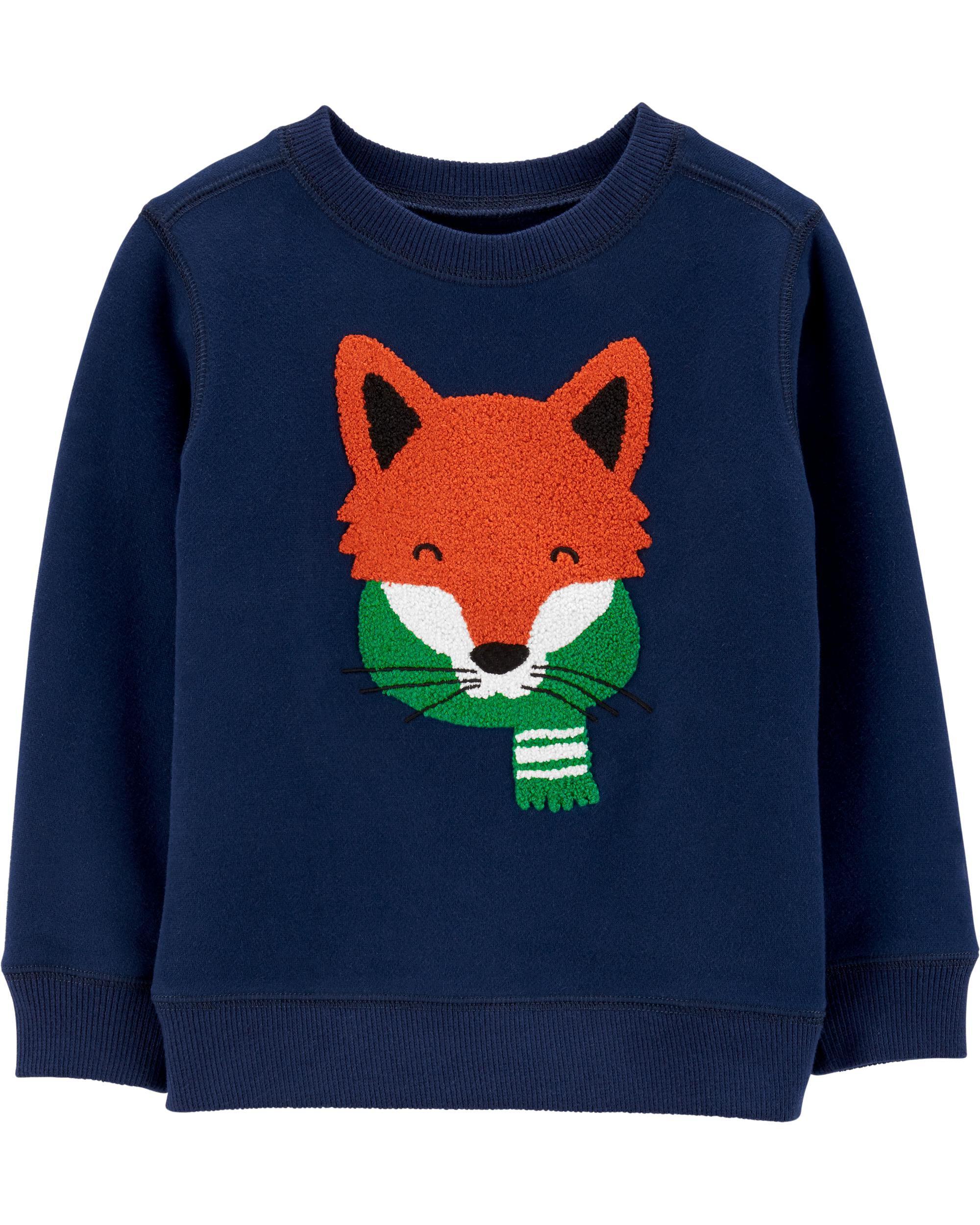 Fox Fleece Sweatshirt
