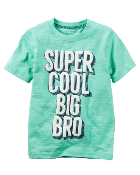 Super Cool Big Bro Graphic Tee