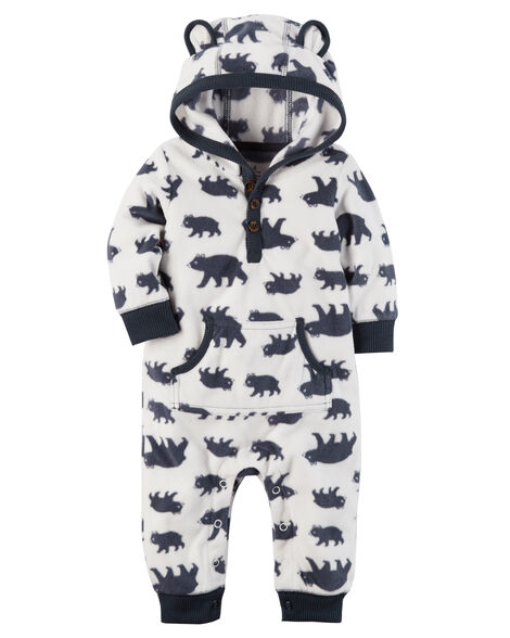 3b36793d0 Hooded Fleece Jumpsuit