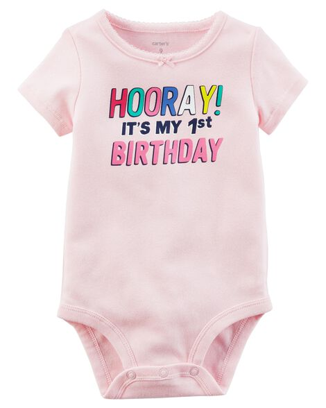 fdd025896628 Images. 1st Birthday Collectible Bodysuit