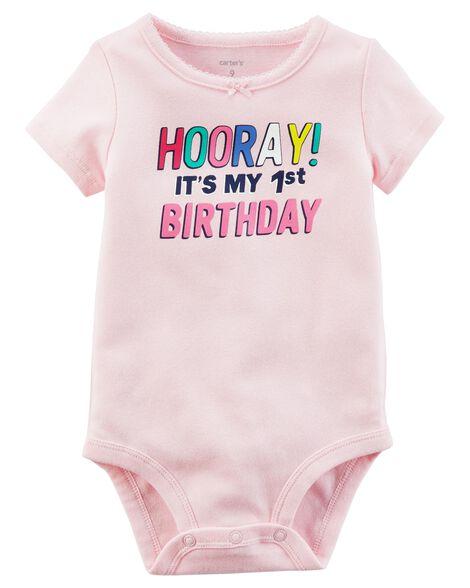 220327b70f47 1st Birthday Collectible Bodysuit | Carters.com