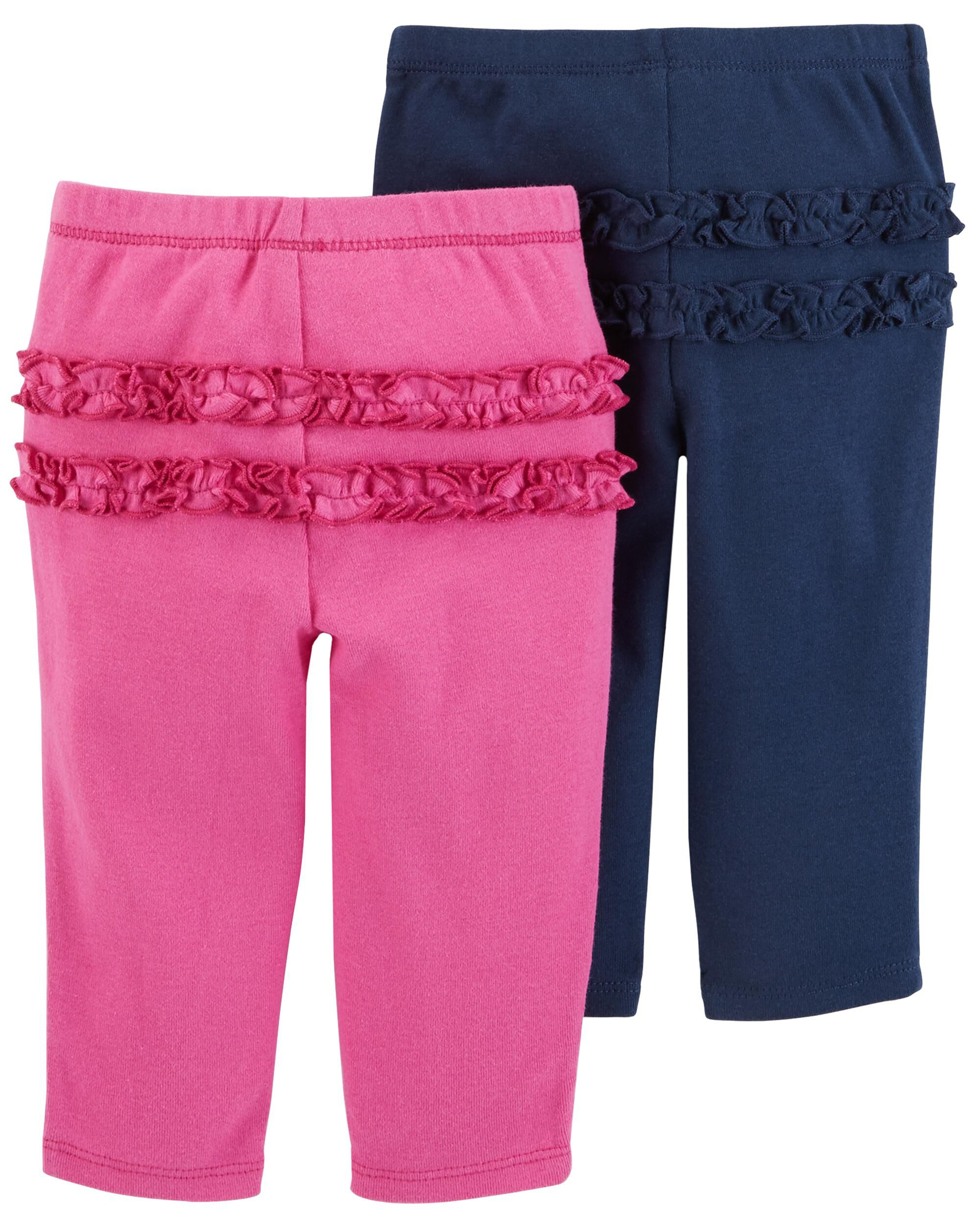 2 Pack Pull On Pants Carters Com