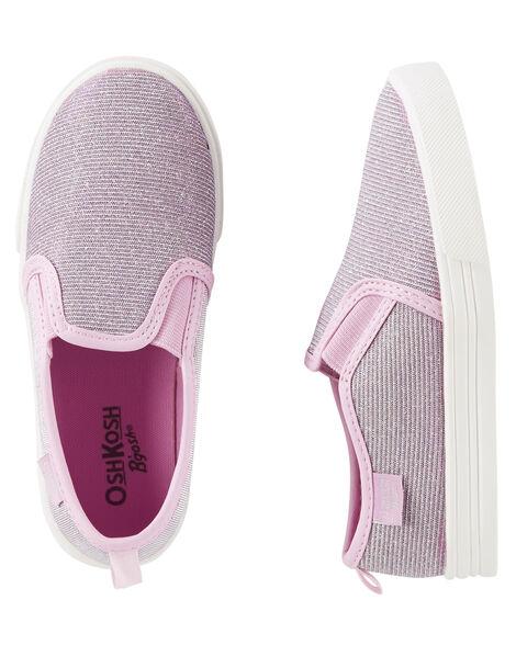 babe4e868e OshKosh Glitter Slip-On Shoes