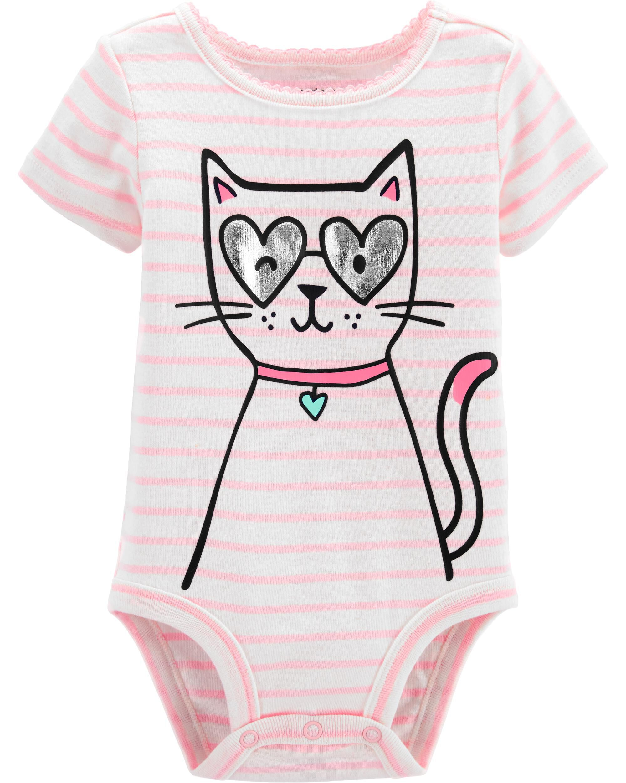 *CLEARANCE*Cat Collectible Bodysuit
