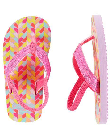 ff35e9bd2982 Baby Girl OshKosh Glitter Flip Flops