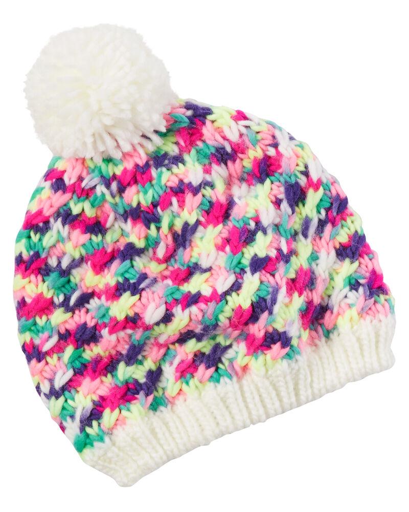 New Hi-Gear Kids' Fur Lined Pom Pom Hat