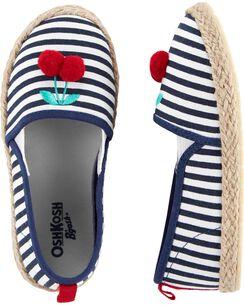 fada7527a OshKosh Cherry Stripe Slip-On Shoes