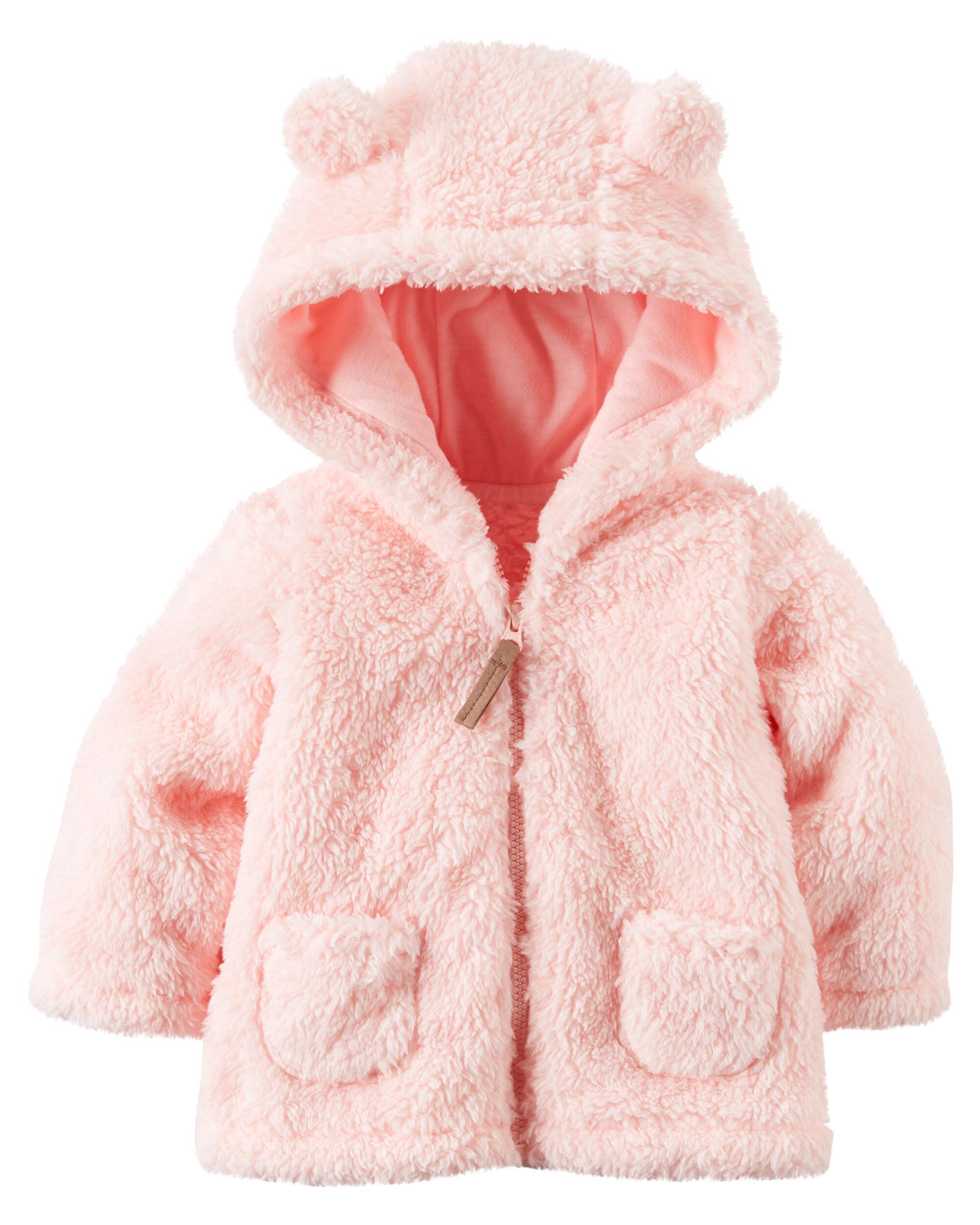 Sherpa Hooded Jacket Carters Com
