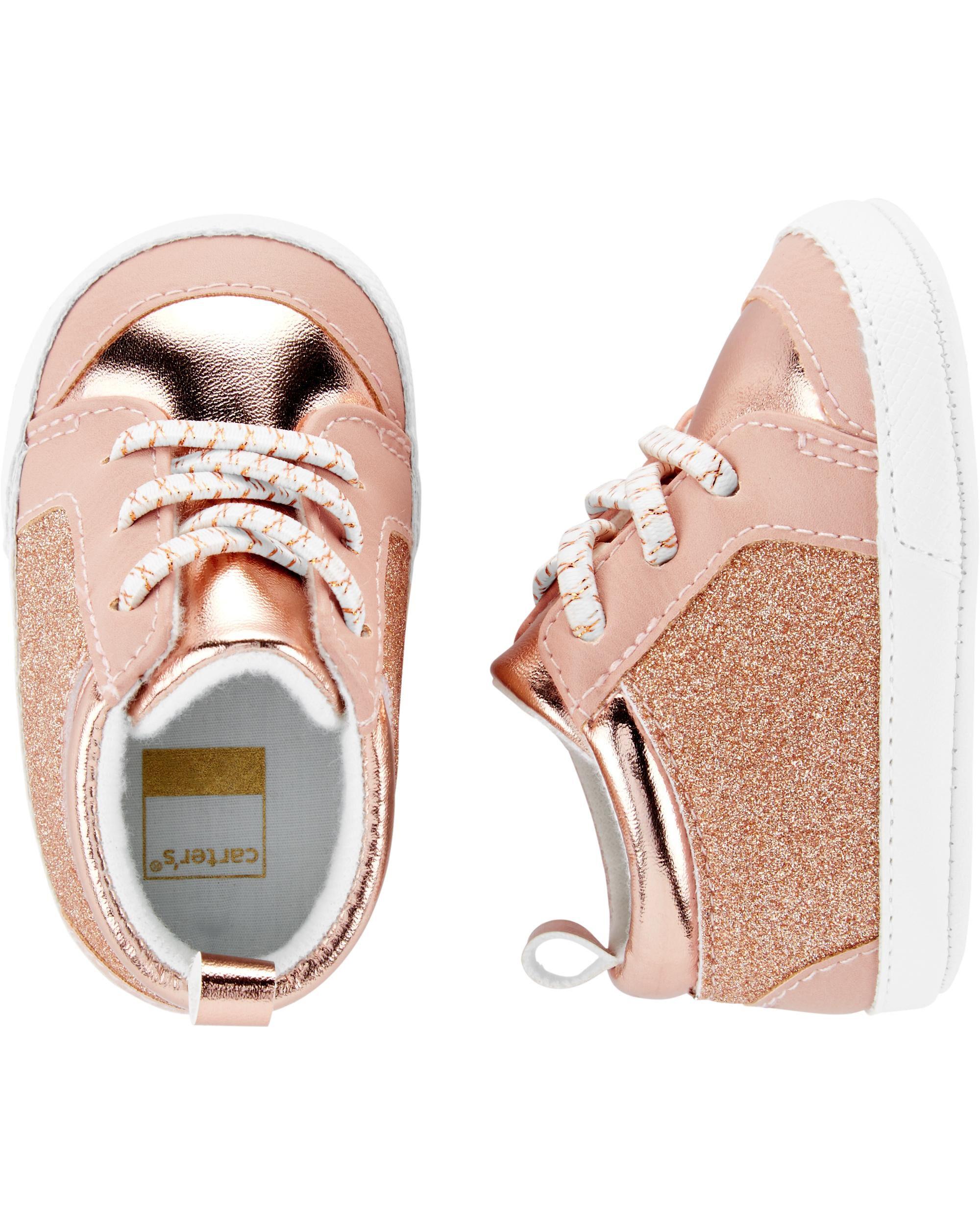 Glitter Sneaker Baby Shoes | carters