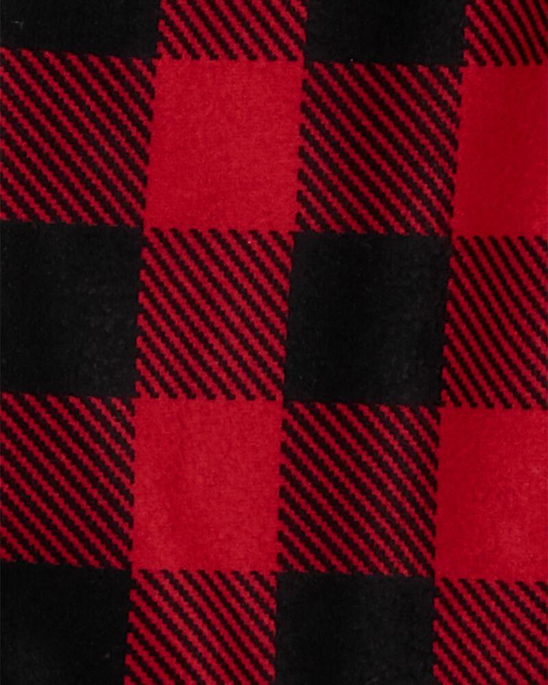 CARTER/'S 2PC RED BUFFALO CHECK PLAID BUTTON DOWN SHIRT PANT SET NB 3M