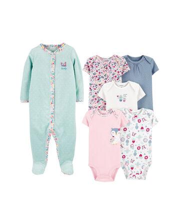 ShangSRS Hooded Romper Baby Boys Girls Flannel Pyjamas 2-36 Months