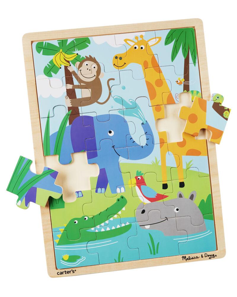 Melissa And Doug Jungle Jumbo Puzzle Carters Com