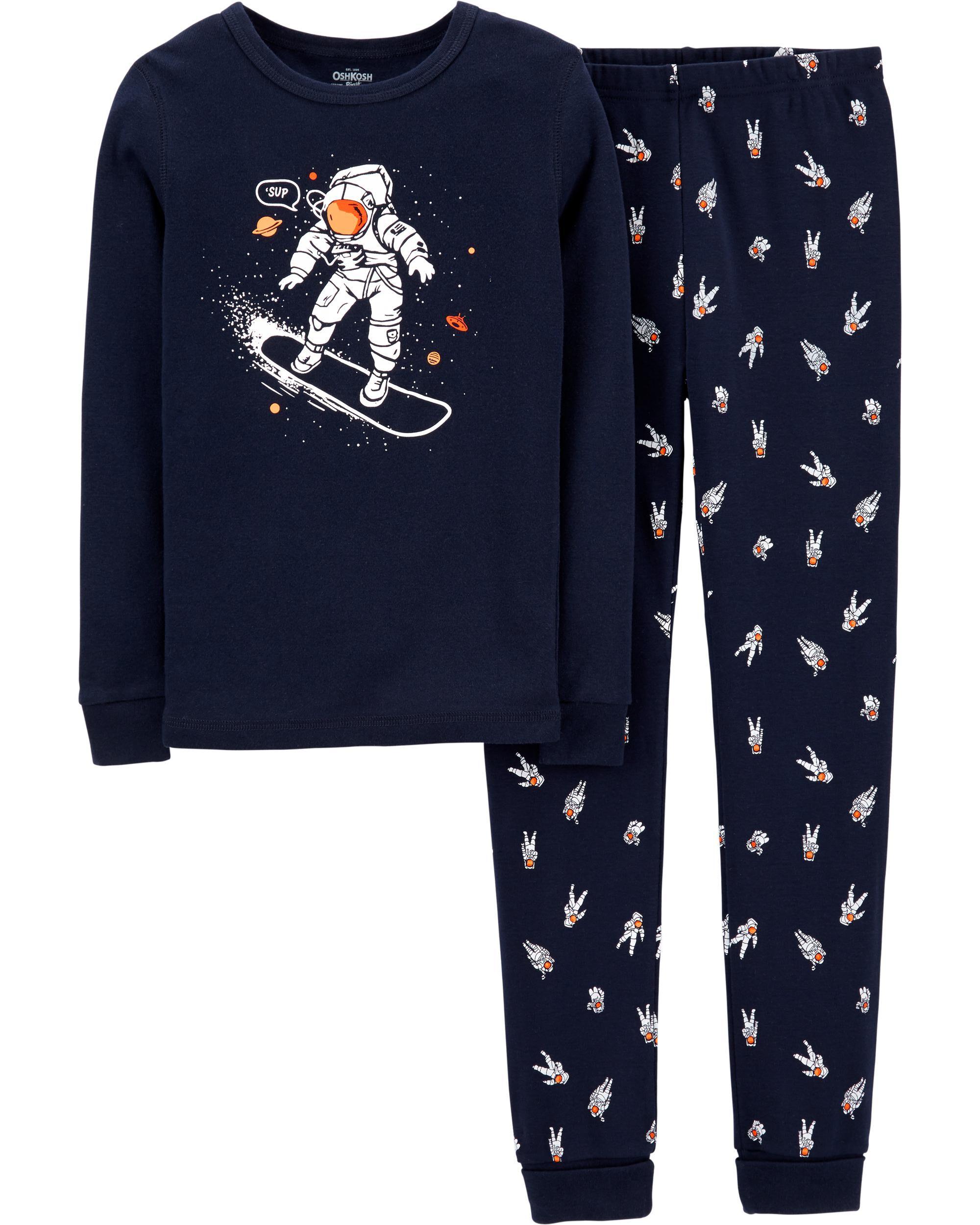 Snug Fit Astronaut Cotton PJs