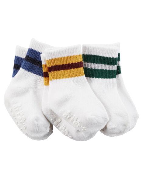 3 Pack Old School Crew Socks Carterscom