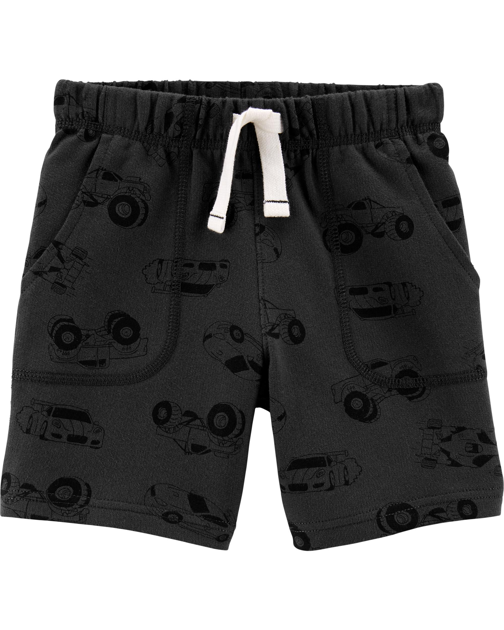 *CLEARANCE* Cars Pull-On French Terry Shorts