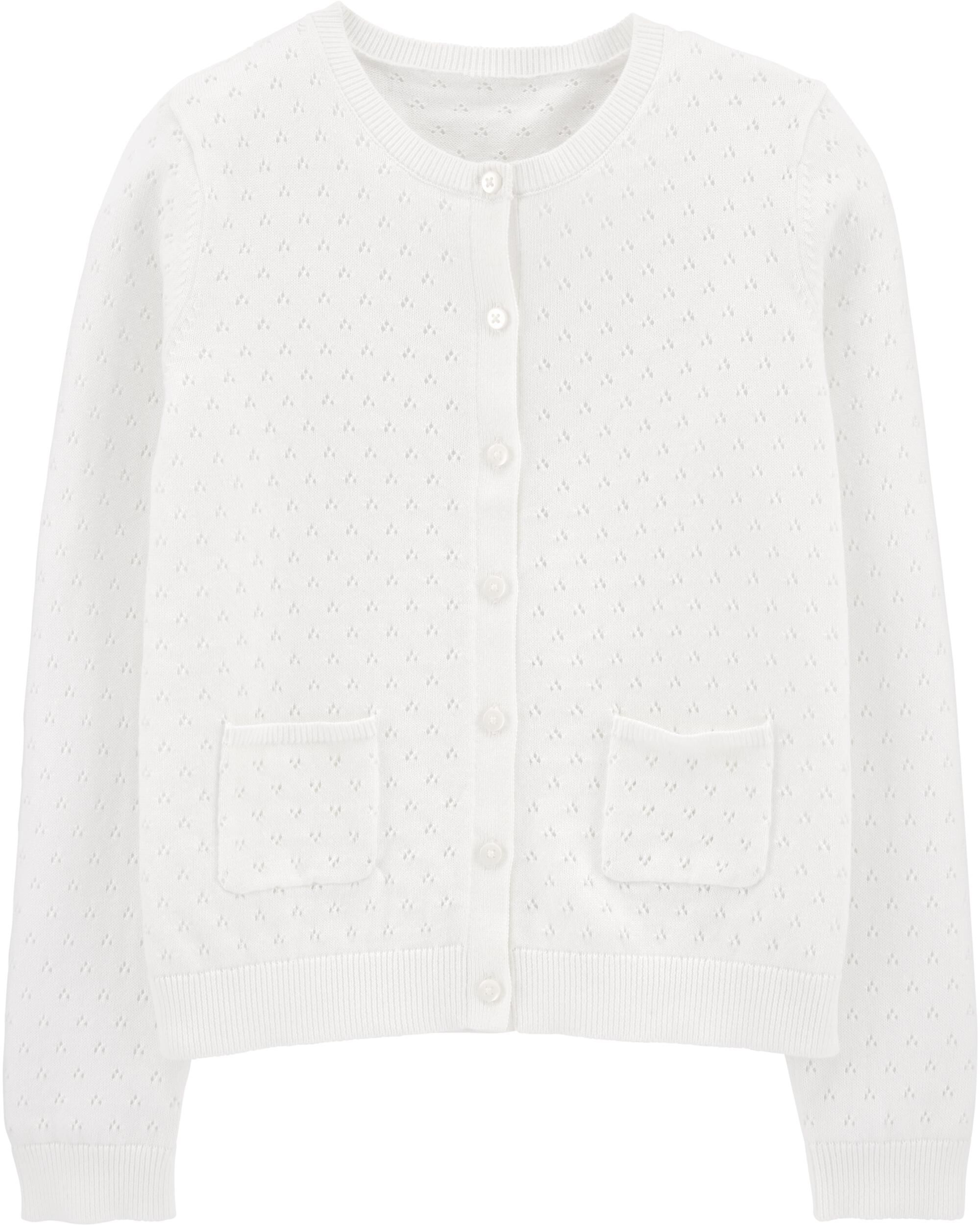 *CLEARANCE* Pointelle Cardigan