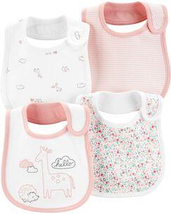 f5e1fd900 Baby Girl Burp Cloths   Teething Bibs