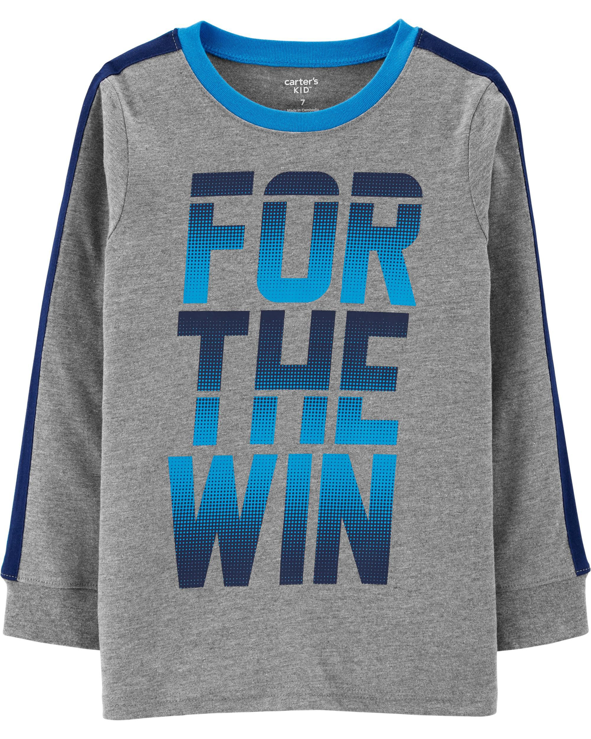 *CLEARANCE* For The Win Jersey Tee