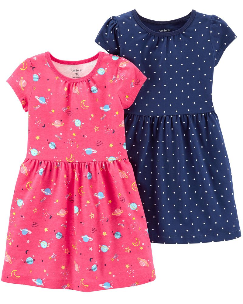 Preemie Carters 2-Pack Sleeper Gowns