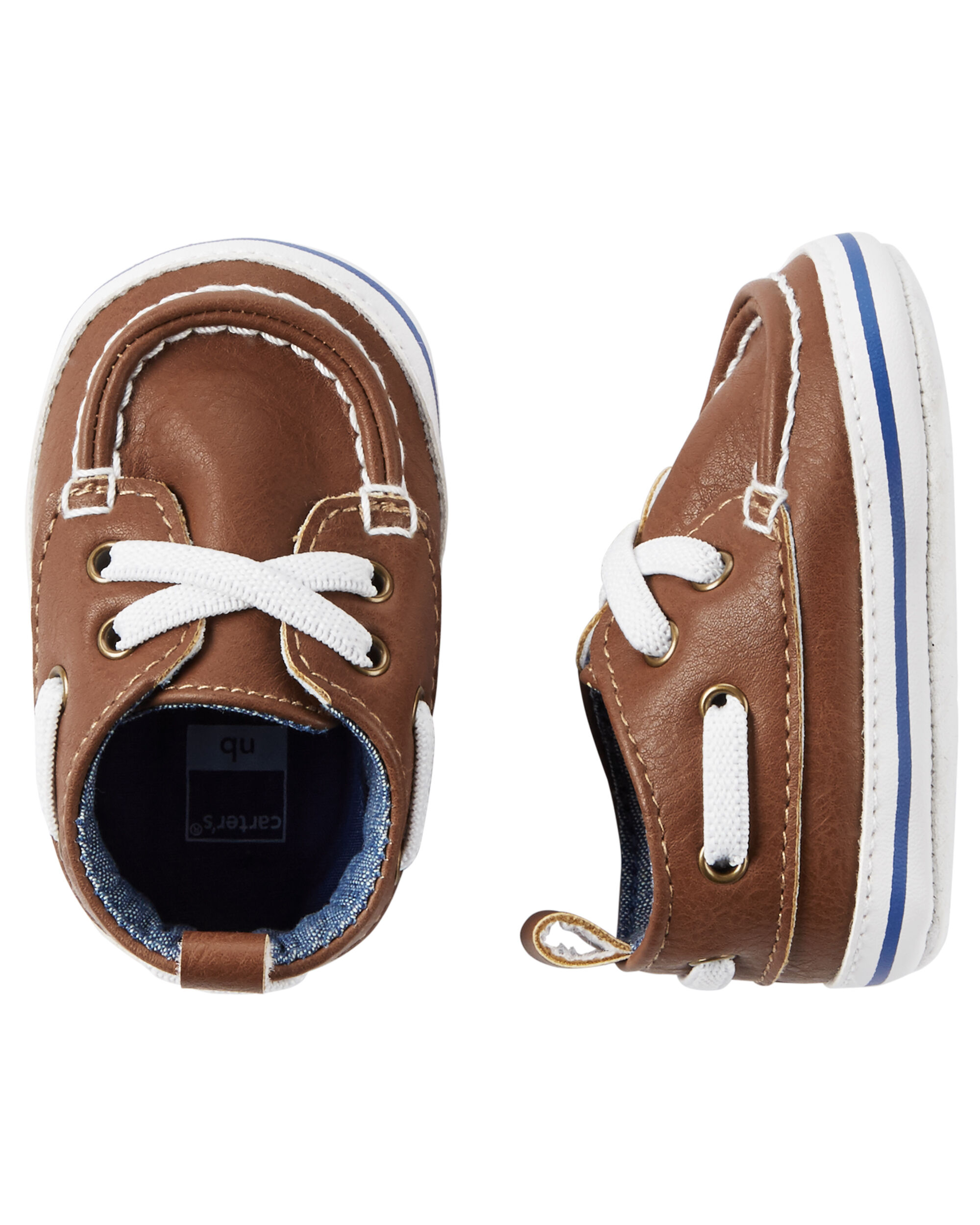 Carter s Boat Shoe Crib Shoes