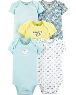 94f226956287c Newborn Baby Girl Clothing | Little Baby Basics | Carter's | Free ...