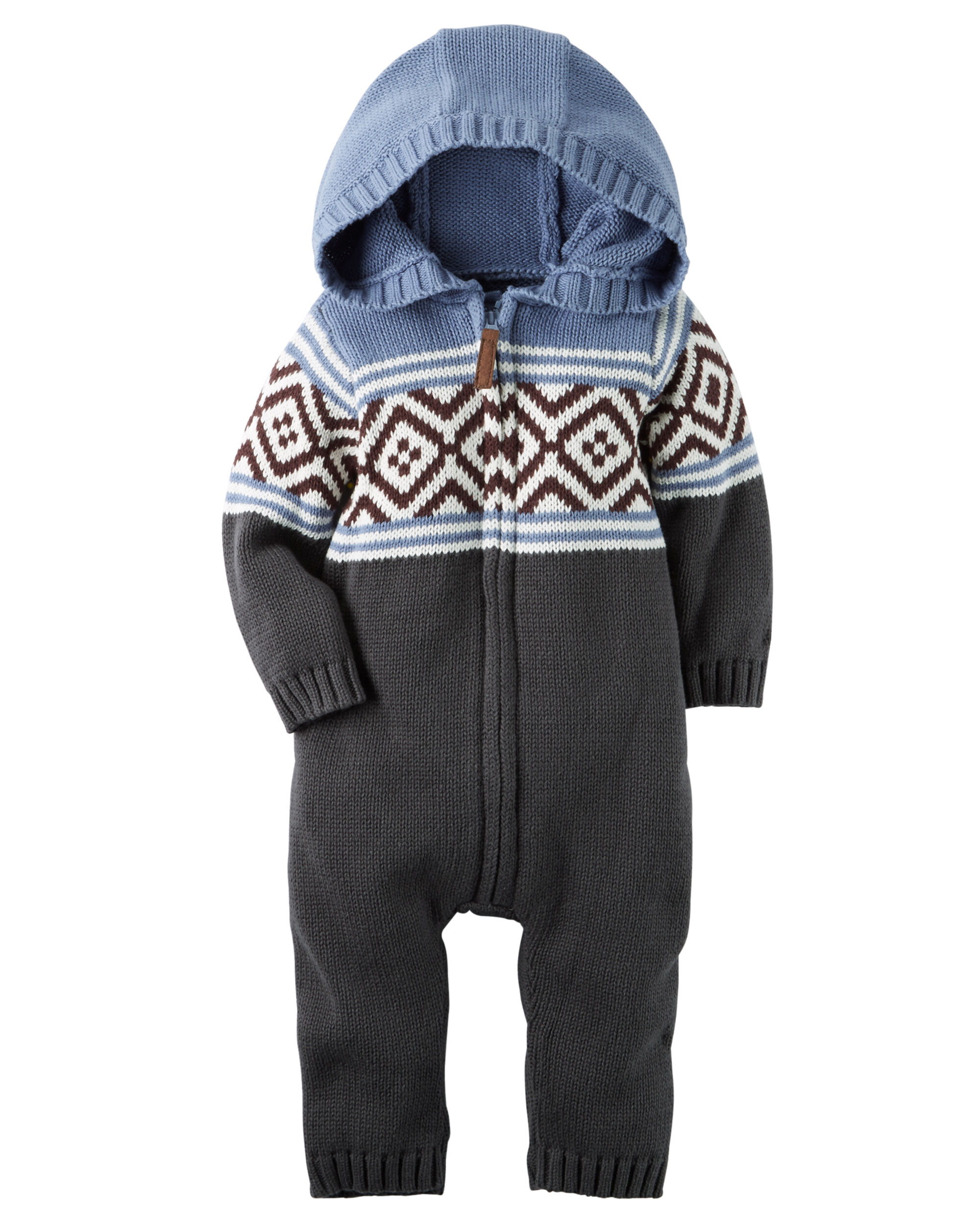 Fair Isle Jumpsuit | Carters.com