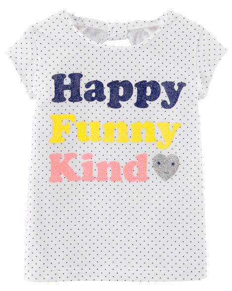 Happy Funny Kind Jersey Tee