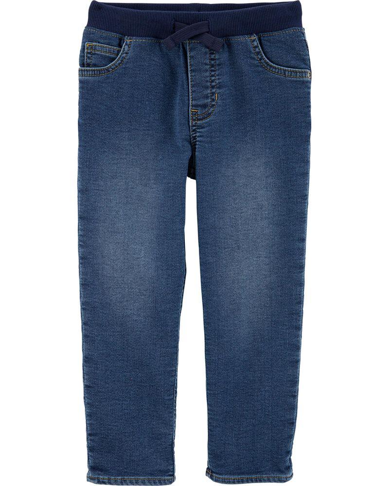 New Carter/'s Boy Pull-On Knit Denim Shorts Many sizes toddler kid boy