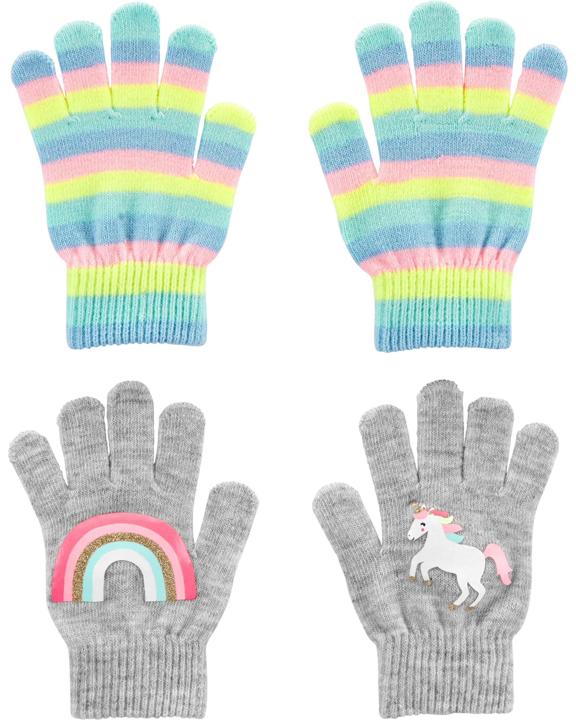 2-Pack Unicorn Gripper Gloves