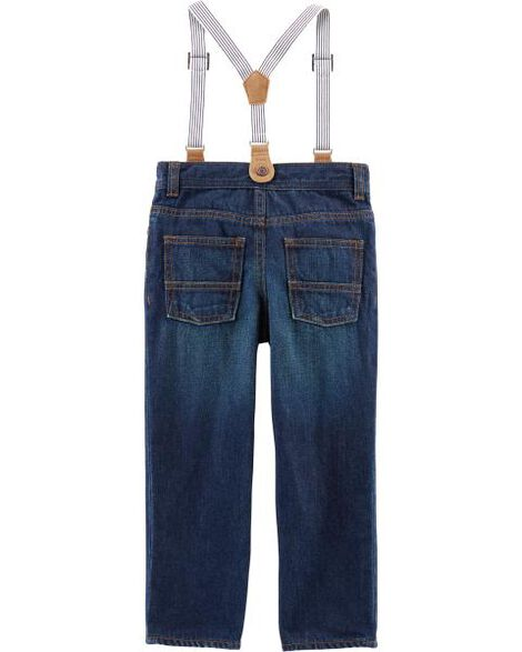 Suspender Denim Jeans