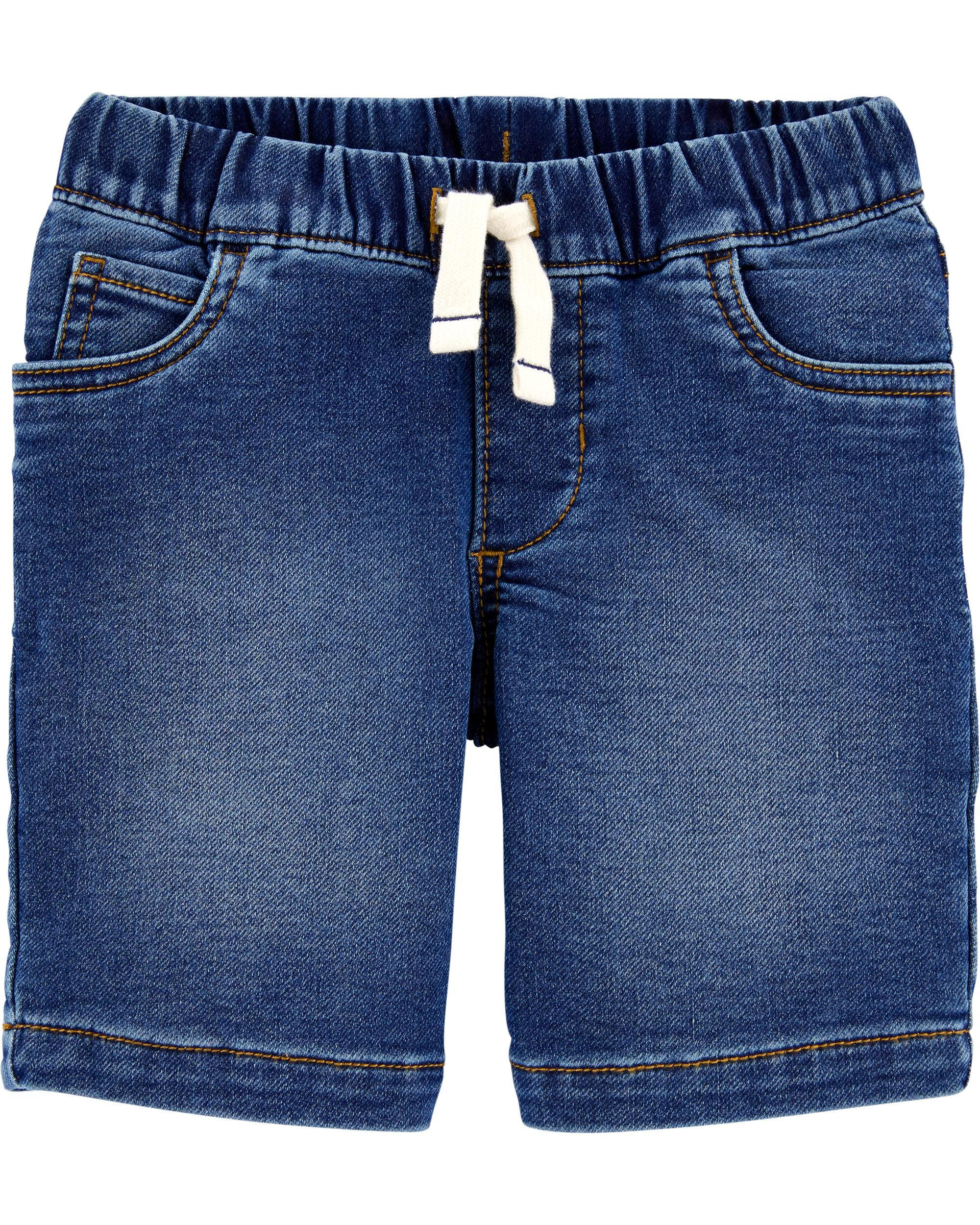 *DOORBUSTER* Pull-On Knit Denim Shorts