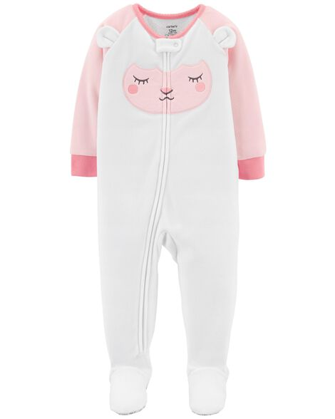ddc855bdb 1-Piece Lamb Fleece PJs
