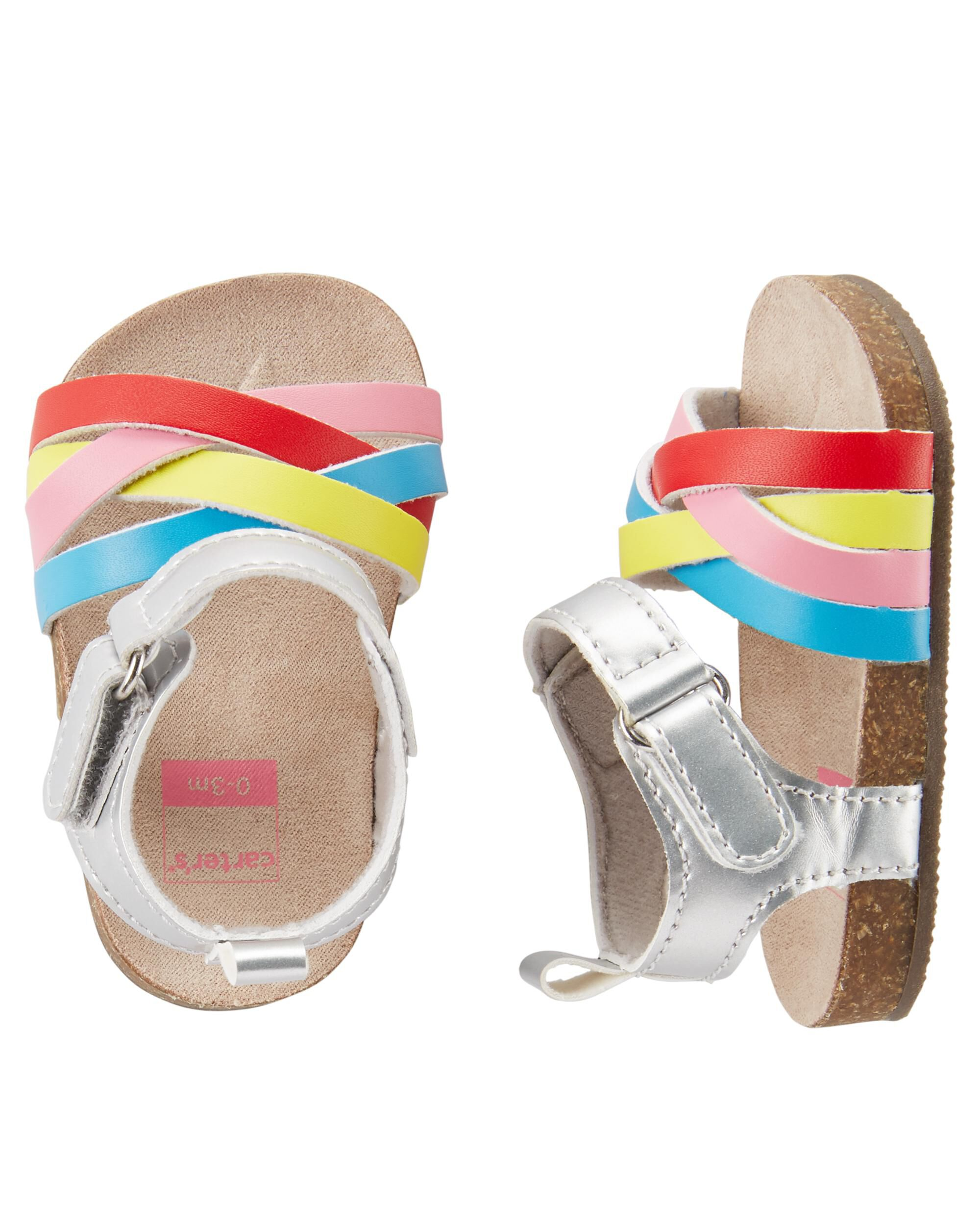 Rainbow Sandal Baby Shoes | carters