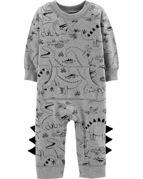 Dinosaur Cotton Jumpsuit