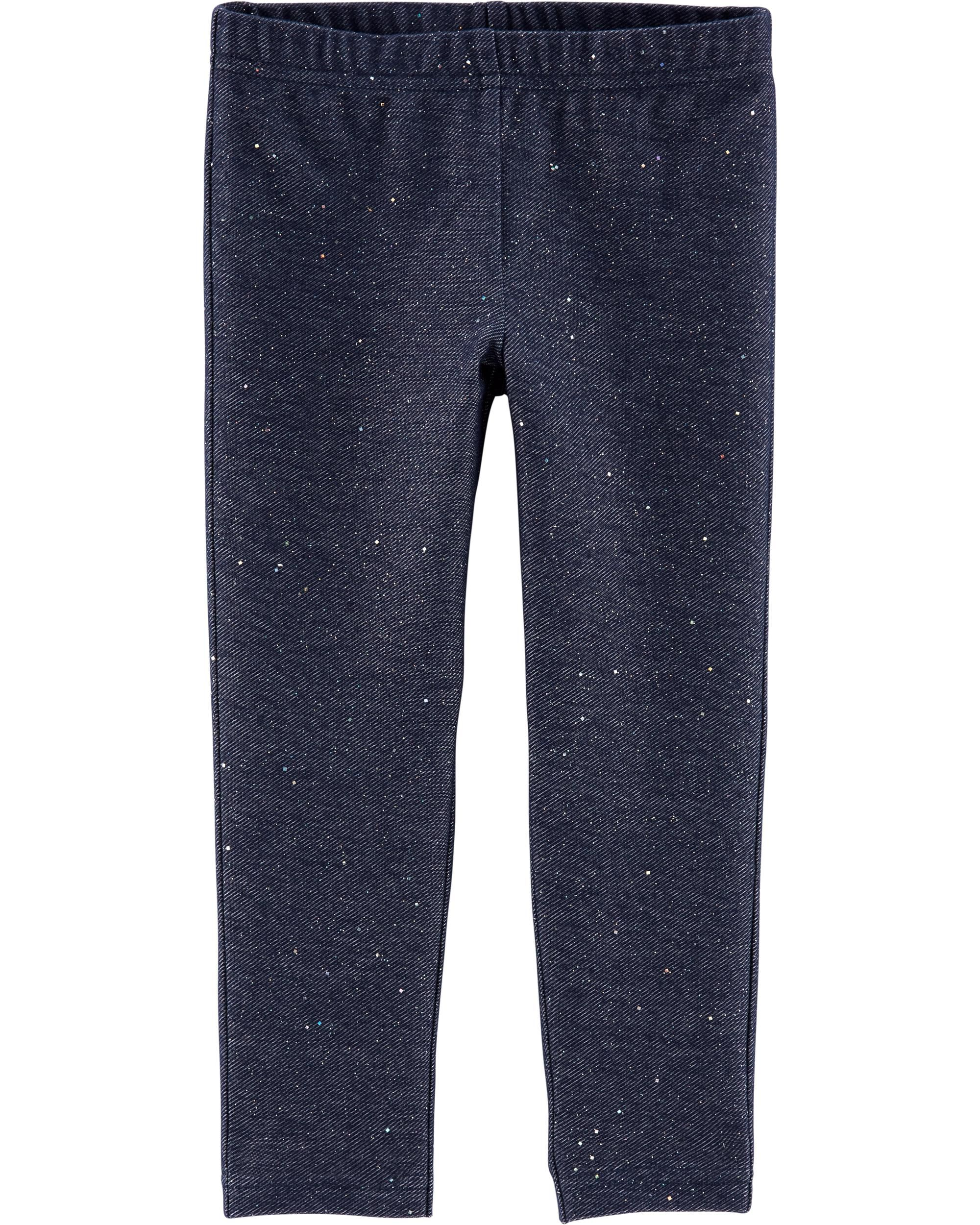 Carters Baby Boys Infants Pull On Faux Denim Pants New